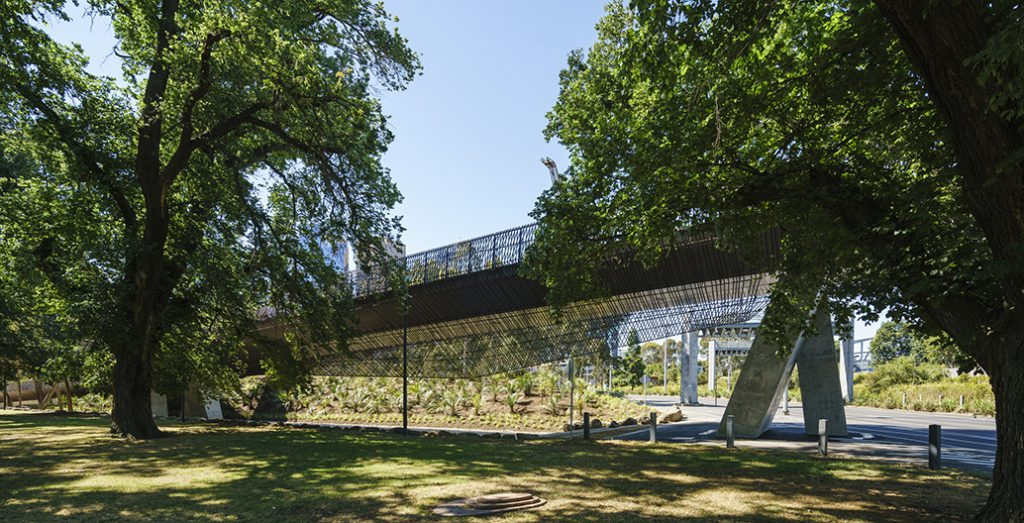 Tanderrum Bridge, Melbourne by John Wardle Architects and NADAAA
