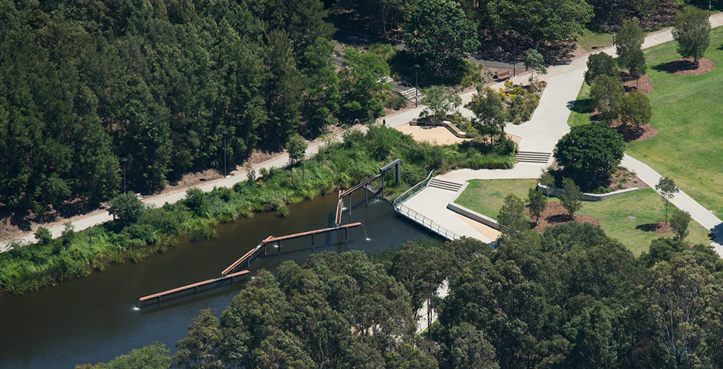 Sydney Park Water Re-Use Project by Turf Design Studio & Environmental Partnership Image courtesy of Ethan Rohloff
