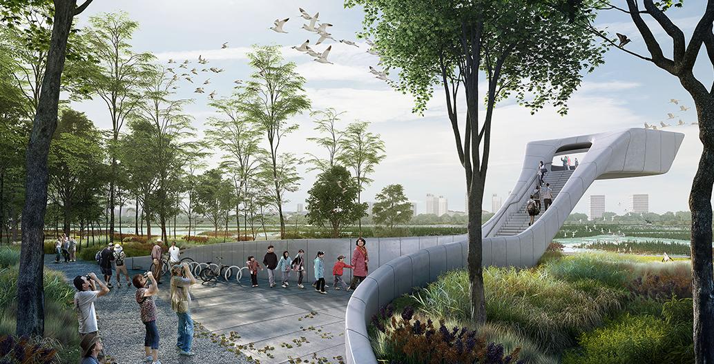Bird Airport at Tianjin