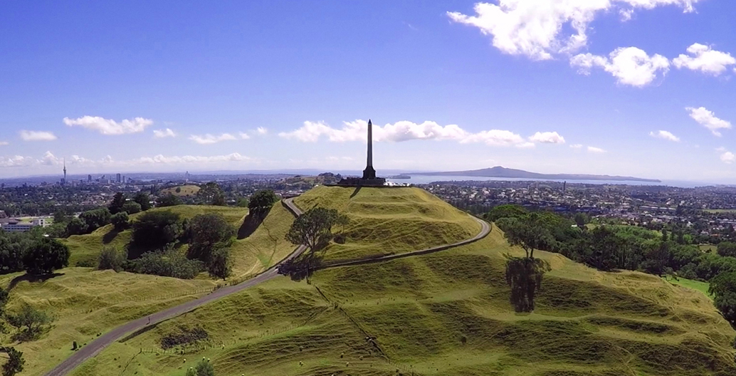 One Tree Hill, Cornwall Park, Auckland.