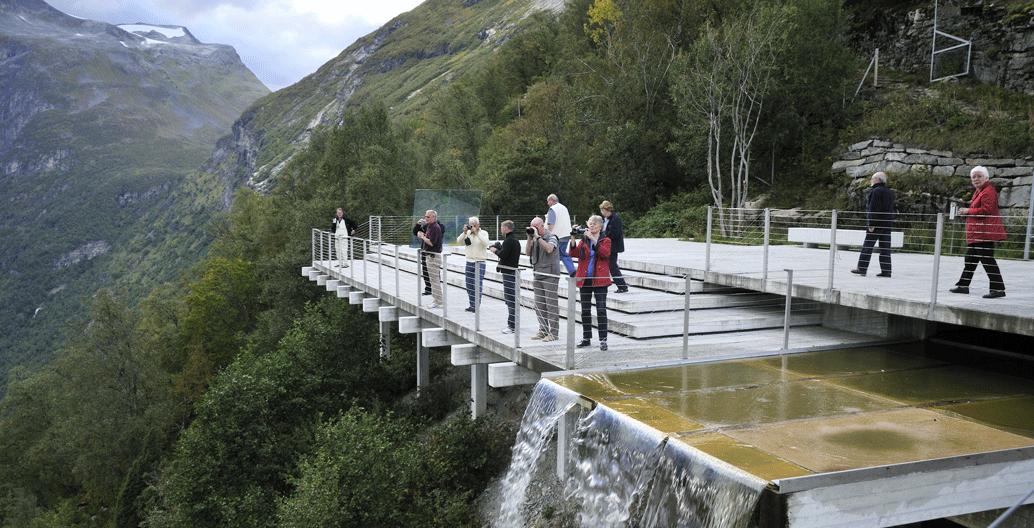 Ørnesvingen, Geiranger. Image: Steinar Skaar / Statens vegvesen