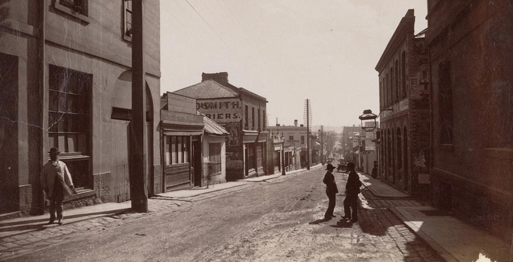 Little Bourke St. looking east (1874). Image: SLV.