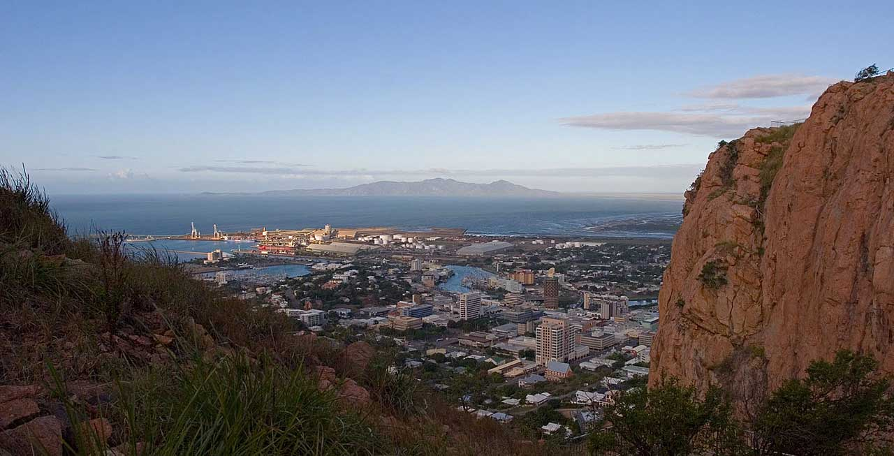 Townsville from Castle Hill.