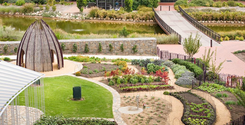 Gardens Landscape Architecture Award: ABG Kitchen Garden (Oxigen).