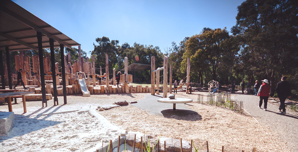 Play Spaces Landscape Architecture Award: Valley Reserve SPARC (Playce).