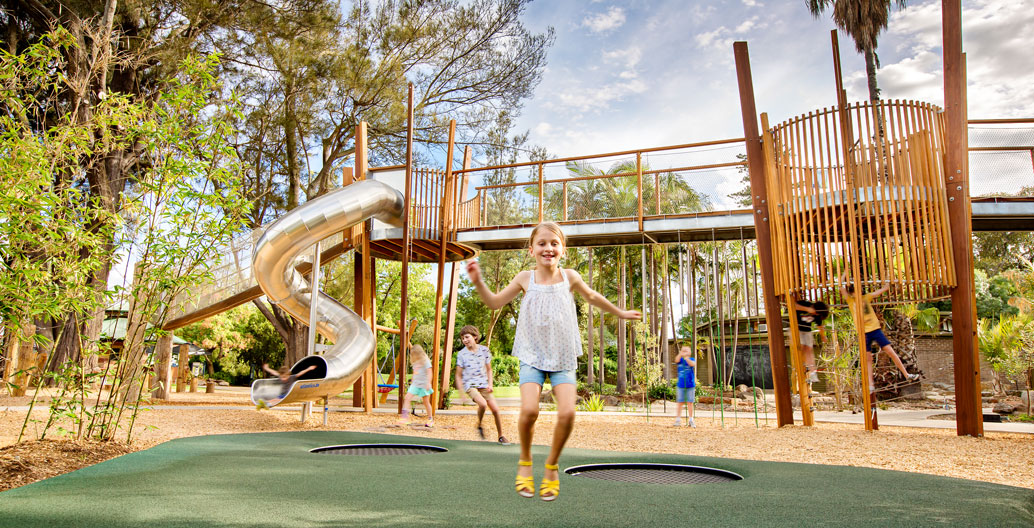 Play Spaces Award of Excellence: Adelaide Zoo Nature's Playground (WAX Studios).
