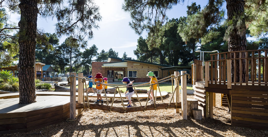 Play Spaces Landscape Architecture Award: DECD Preschool Outdoor Learning Areas (JPE Design Studio).