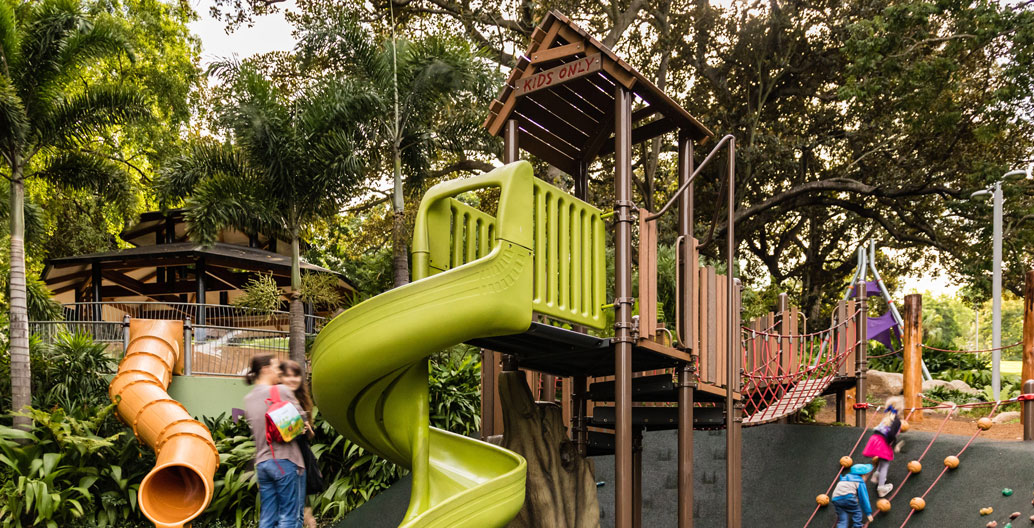 Play Spaces Landscape Architecture Award: Roma Street Parklands Playground & Children's Garden (Lat27 & Playscape Creations)