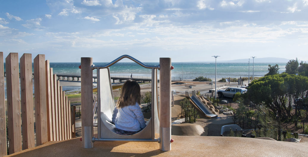 Play Spaces Landscape Architecture Award: Rosebud Foreshore (HASSELL).