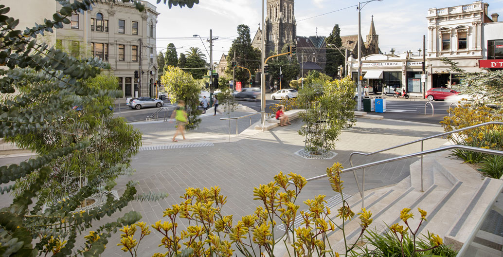 Urban Design Award of Excellence: Hawthorn Arts Centre Civic Space (Site Office).