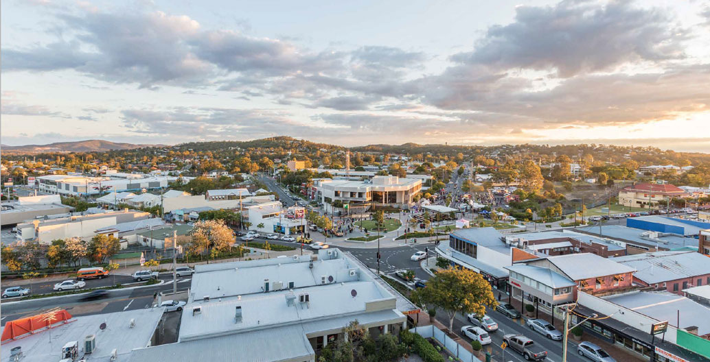 Civic Landscape: Beenleigh Town Square (AECOM).