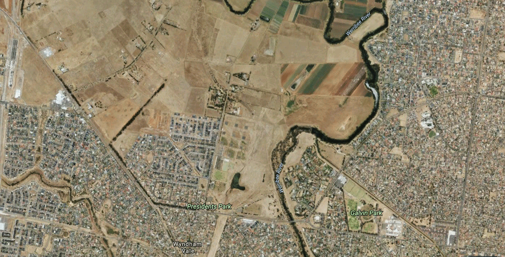 Melbourne's outer-western suburb of Wyndham Vale, where the public transport commute is an hour and a half.