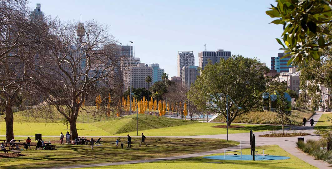 Prince Alfred Park: The art of knowing that to retain, what to revive and what to bring anew Image: Brett Boardman