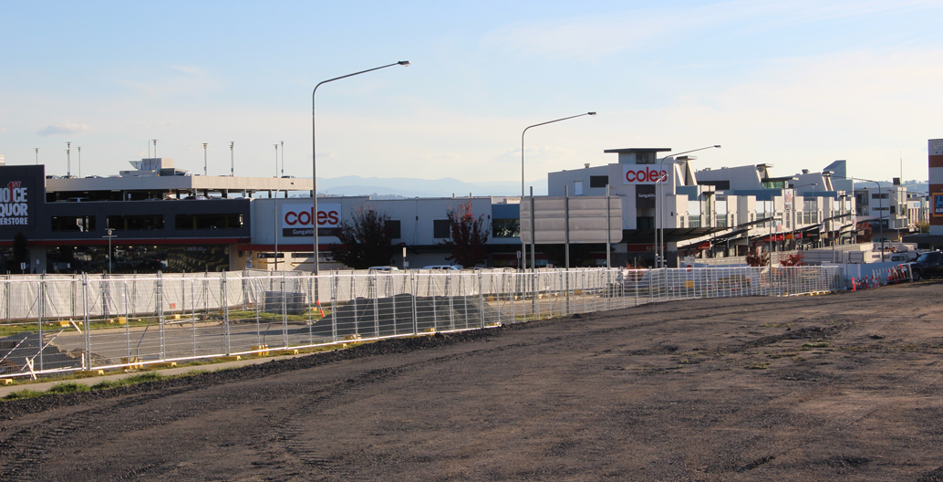 Canberra's wide road corridors adapting to new use. Gungahlin light rail by HASSELL, Arup and Dsb Landscape Architects