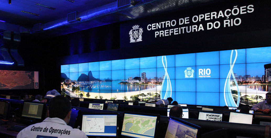 Big Brother urban control in Rio de Janeiro's Integrated Center of Command and Control