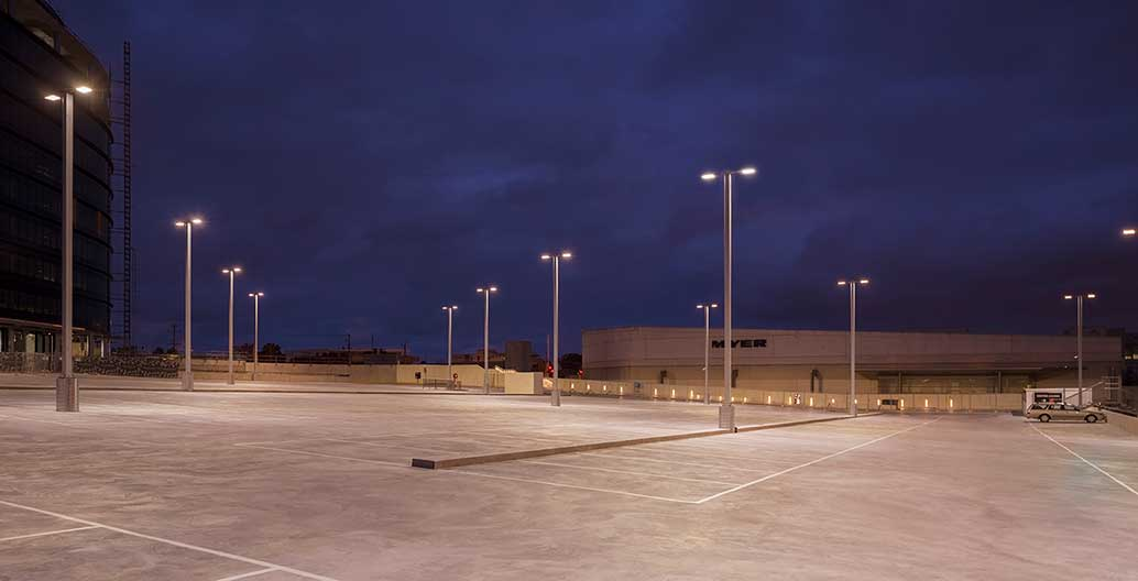 Chadstone Shopping Centre transport hub, lit using WE-EF's LED technology