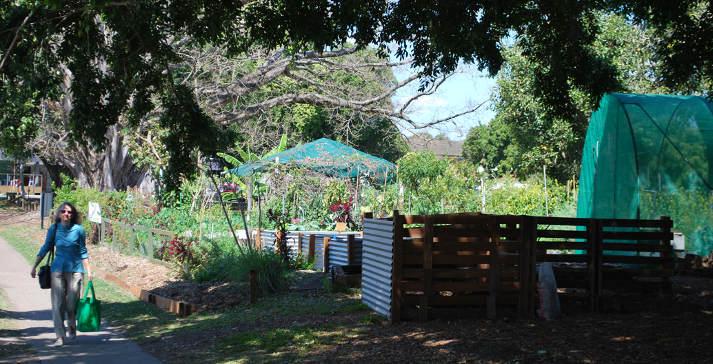 Jane Street Community Garden is located 5 minutes from the the Brisbane CBD.