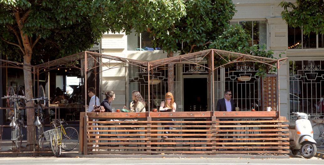 375 Valencia Street Parklet, San Francisco. Image: San Francisco Planning Department.