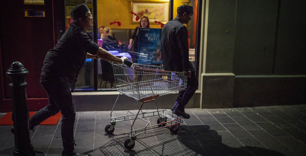 Melbourne's night-time economy has transformed since 1985. Image: Chris Brown.