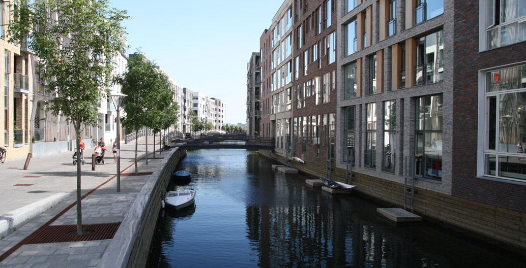 Sluseholmen will form part of a regeneration scheme accommodating 9000 homes. Image: Christoffer Grann.