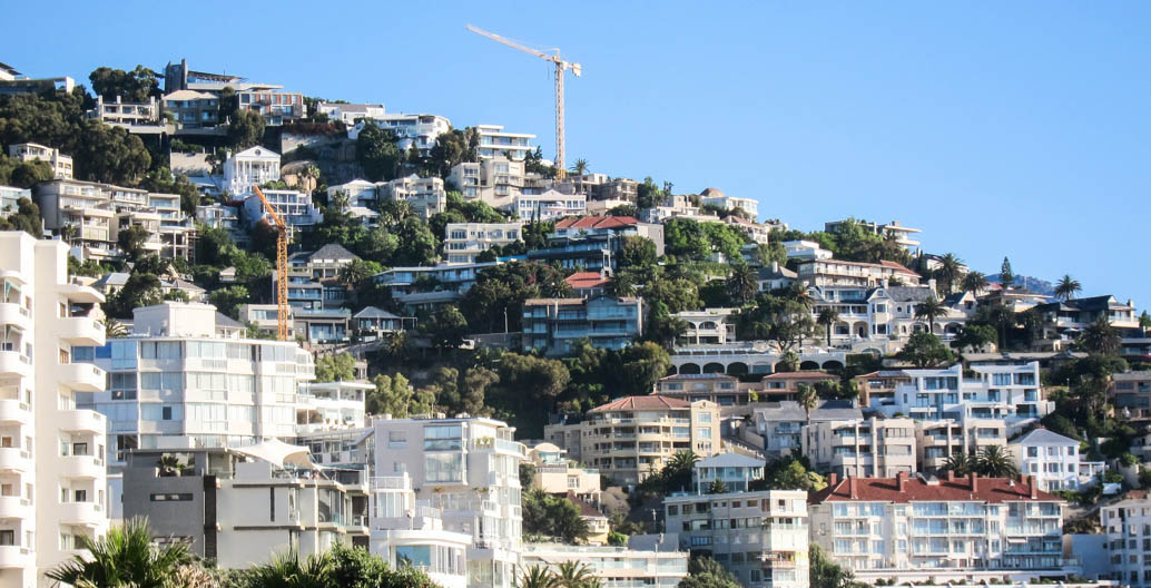 Much criticism has been levelled at Cape Town's affluent residents, home to pools and verdant gardens.