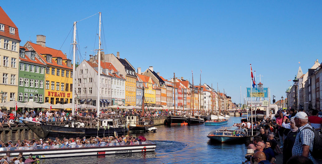 Copenhagen's old town, like Venice, wasn't built for the storm surges predicted by 2100. Image: Georg Bräunig.