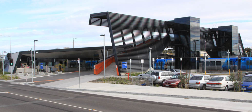 For outer-suburban areas such as Thomastown in Melbourne, car park provision is a necessity in order to access public transport. Image: Marcus Wong