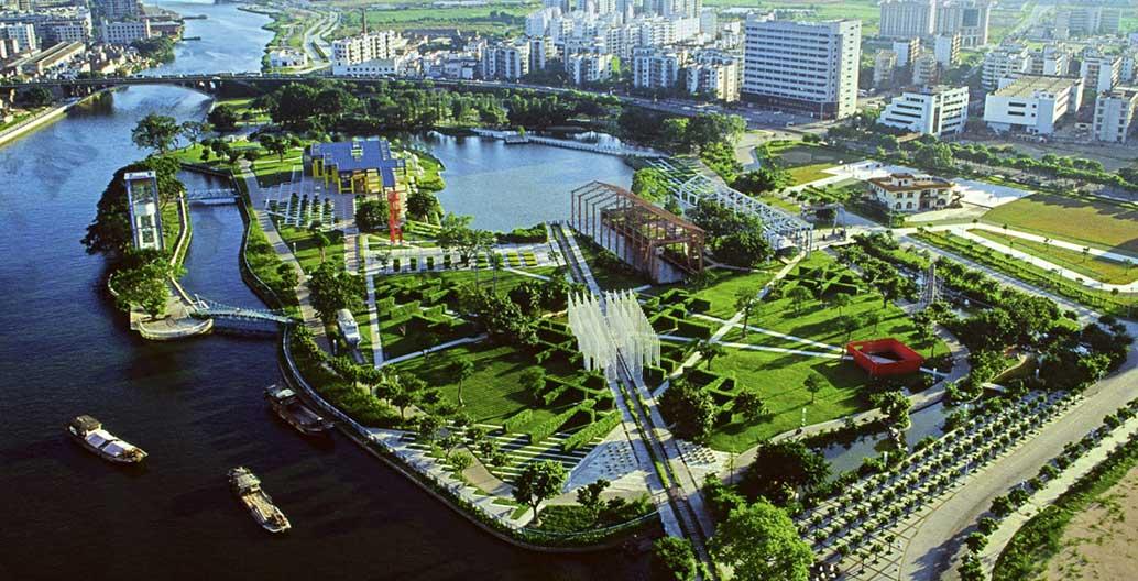 Zhongshan Shipyard Park by Turenscape