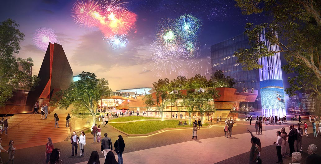 Perth's new public space, Yagan Square, seeks to forge a new centre for the city.