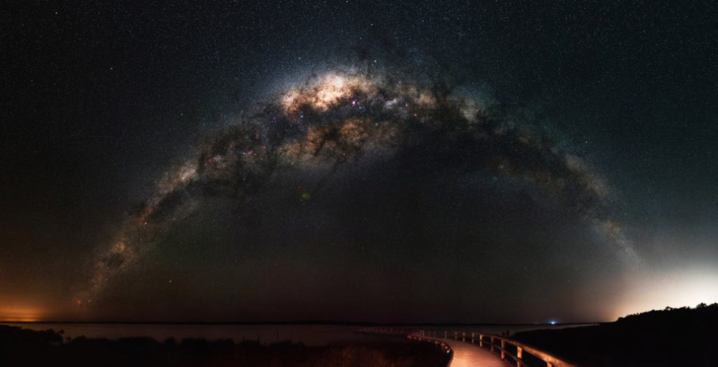 To see the Milky Way you now have to travel to remote places to find a dark sky.