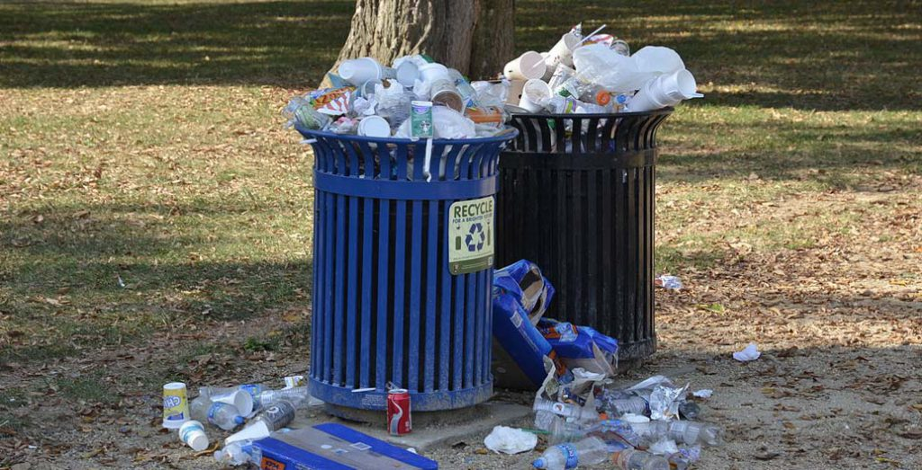 Overflowing bins are one way to spoil the amenity of public space, but sensors can now alert councils when bins need emptying.