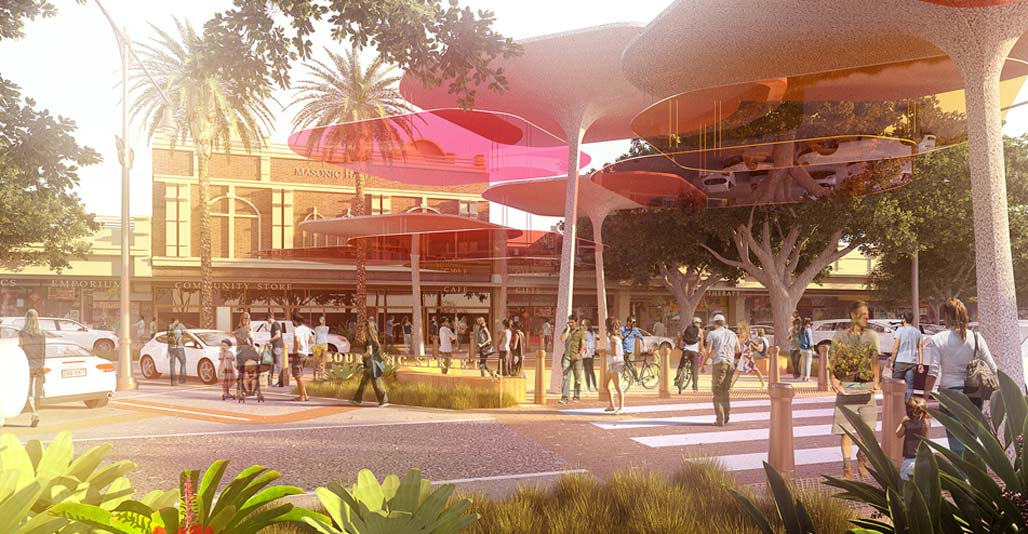 Bundaberg CBD revitalisation by Archipelago, Infrastructure Landscape Architecture Award.