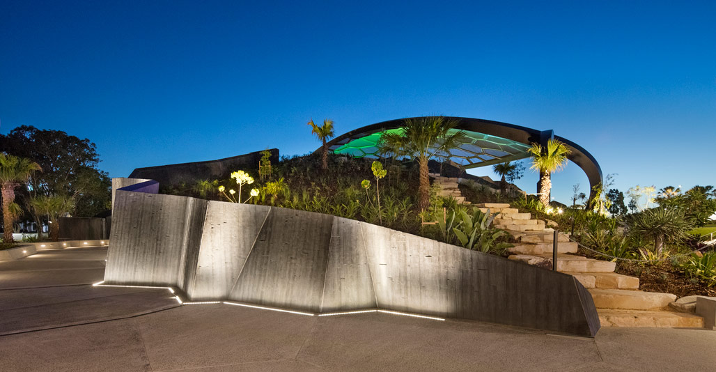 HOTA Outdoor Stage by Cusp, Topotek1 & ARM, Civic Landscape Architecture Award. Image: John Gollings