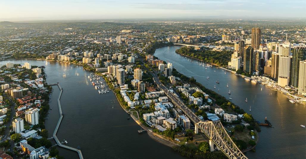 Landscape Planning: Kangaroo Point Urban Renewal Strategy by Urban Renewal Brisbane, Lat27 & BVN. Image: BCC