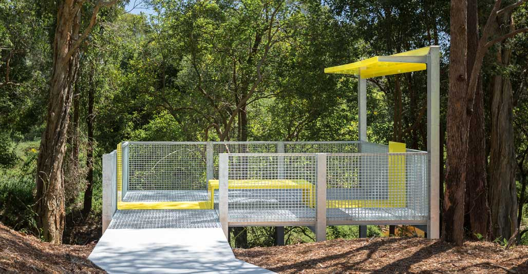 New facilities were strategically placed to encourage people to linger. Image: supplied