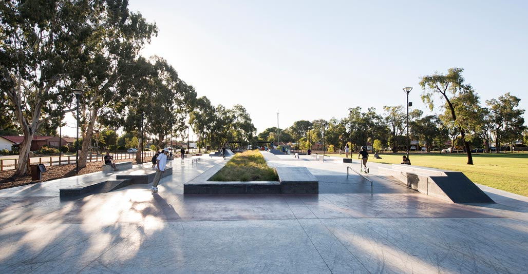 Infrastructure landscape award: Mills Park by Cardno. Image: Alana Blowfield