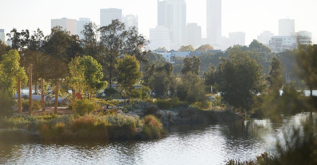 Works involved extensive landscape rehabilitation. Image: Robert Frith