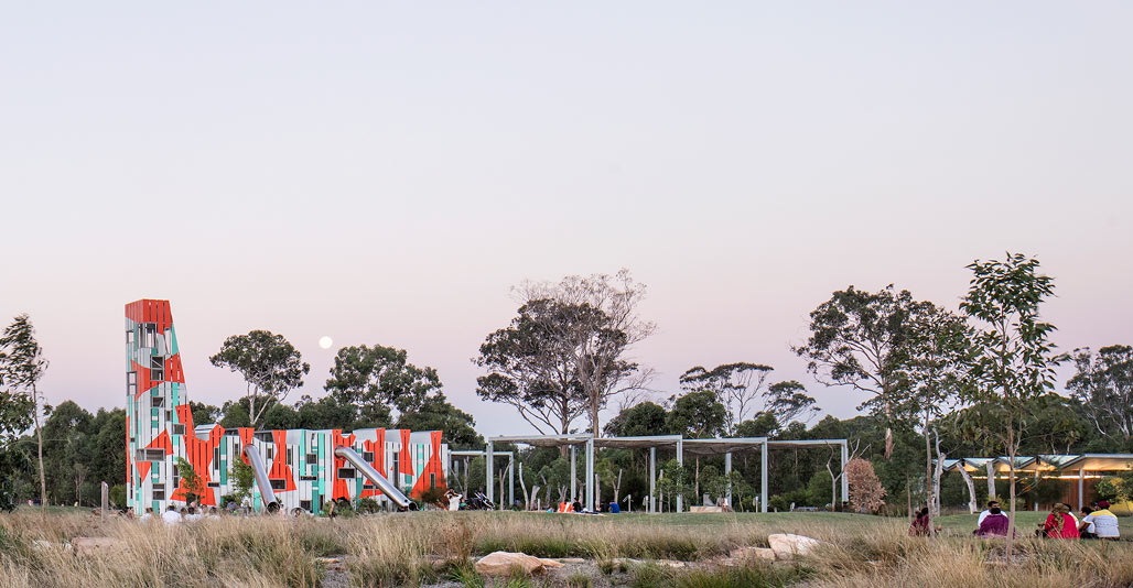 Parks & Open Space: Bungarribee at Doonside by JMDdesign. Image: Simon Wood