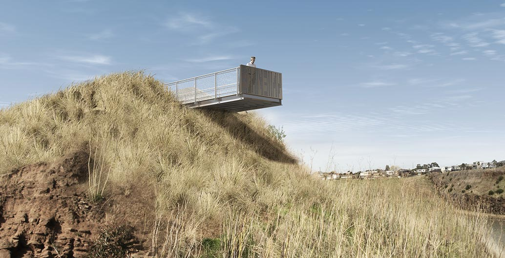 Small projects landscape architecture award: Valley Lake Lookout by McGregor Coxall.