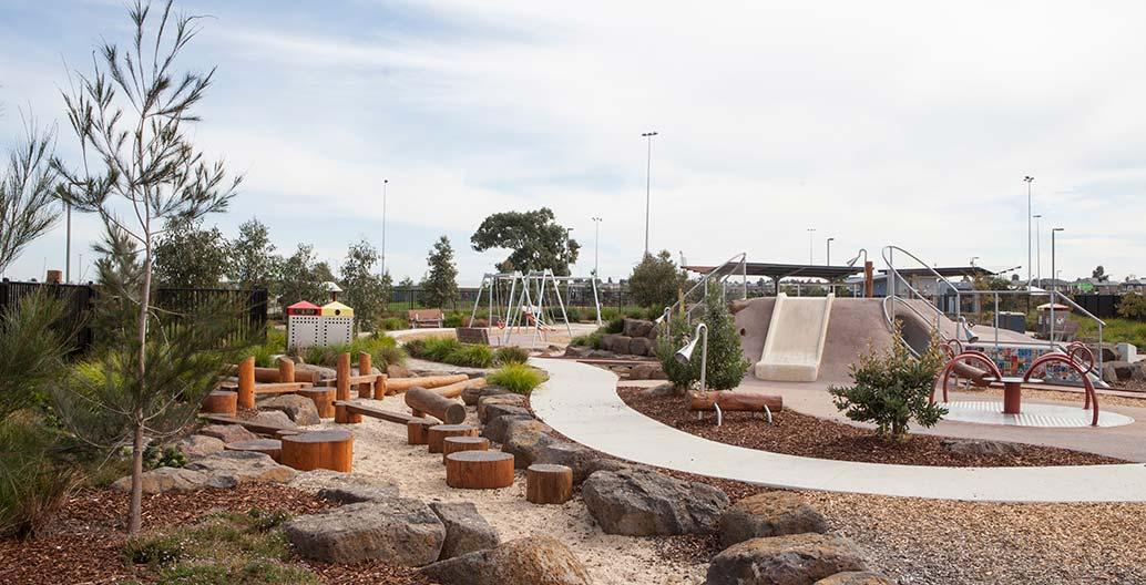 Community contribution landscape architecture award: Livvi's Place Craigieburn by Aspect Studios.