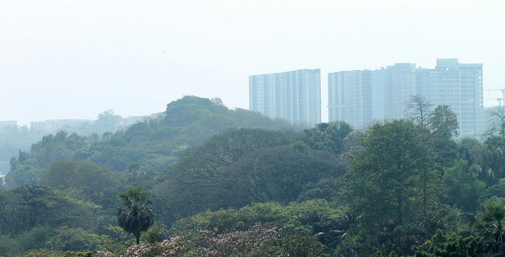 Many of the world's fastest growing cities, such as Mumbai, are located within the tropics. Image: Don Chili