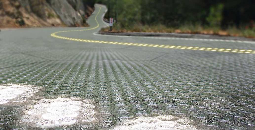 Solar roadway concept