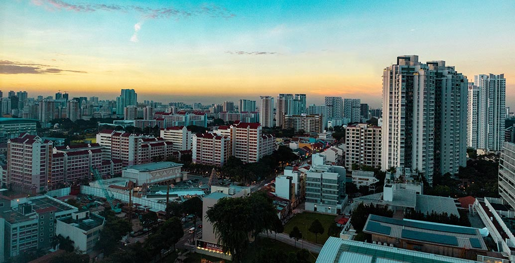 Singapore is perhaps the apotheosis of the tropical city, with a population that is 100 percent urban
