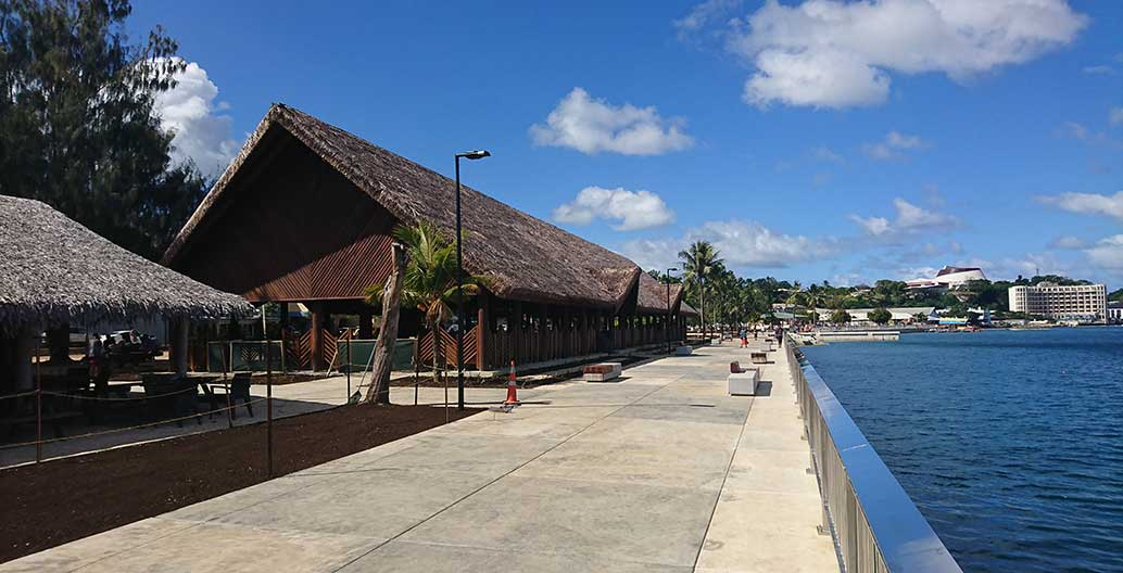 The new market buildings are a long-term investment in the local tourism economy. Image: BECA