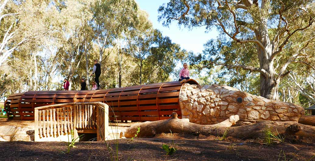 Mukanthi Nature Playspace. Image: Peter Semple.