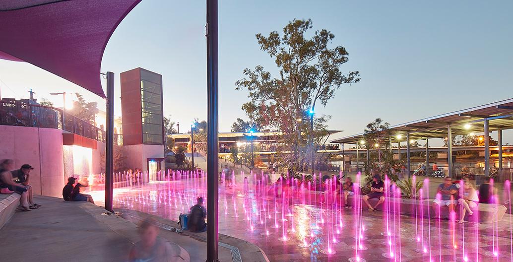 QLD regional winner: Rockhampton Riverside by Urbis.