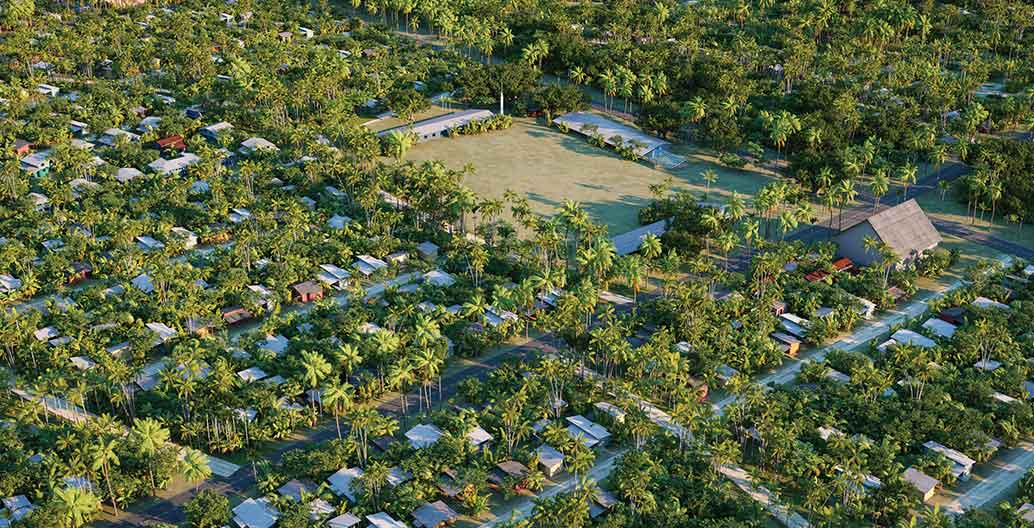 Temaiku Land and Urban Planning. Image: Jacobs.