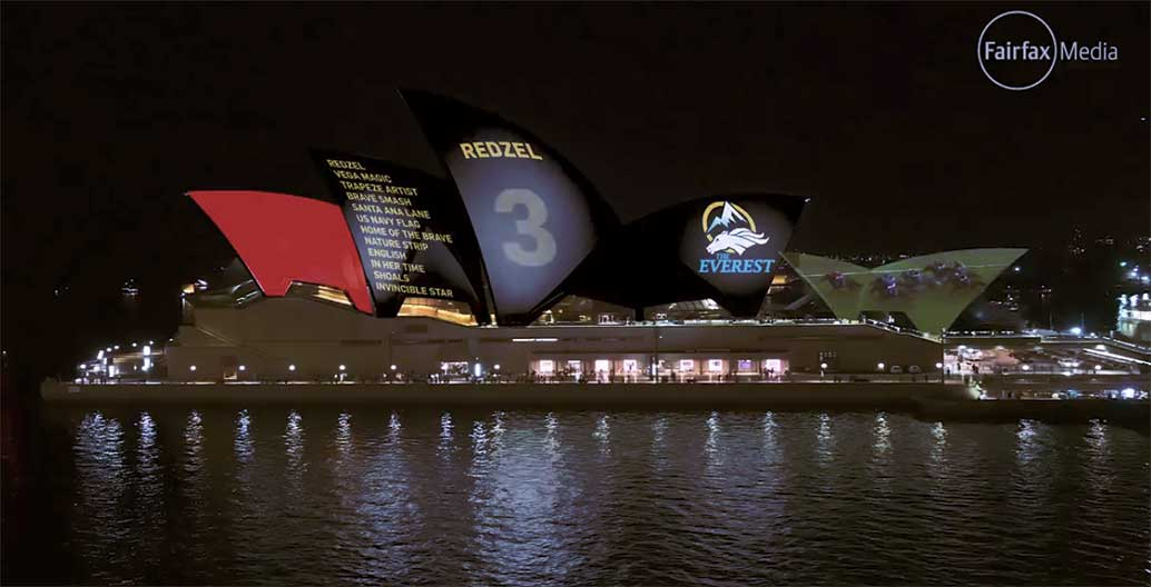 This was Racing NSW's official submission to the Sydney Opera House