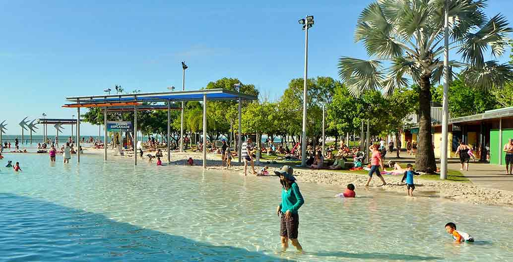 Tourism is still growing, thanks in part to the Cairns Esplanade Image: Bahn Frend