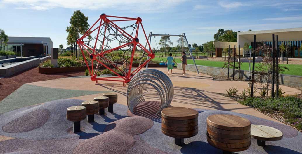 Bunurong Memorial Park playground